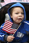 Joseph Mattis, 3, and his family were among the nearly 100 people participating in the third annual Veterans Suicide Awareness March in Carson City, Nev., on Saturday, May 6, 2017. The event, put on by  Western Nevada College Student Veterans Club and the Veterans Resource Center, raises awareness of the more than 8,000 veteran suicides each year in the U.S.<br />Photo by Cathleen Allison/Nevada Photo Source