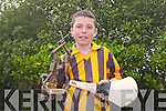 SKILLS WINNER: Cillian Spillane of Abbeydorney NS winner of the individual Kerry Primary Schools Hurling Skills...