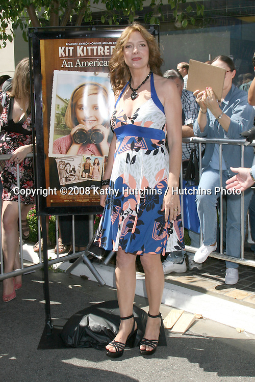 Glenne Headley arriving at the poremiere of Kit Kittredge at The Grove in Los Angeles, CA.June 14, 2008.©2008 Kathy Hutchins / Hutchins Photo .