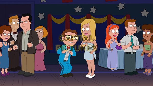 American Dad! (2005 - )<br /> (Season 7)<br /> Stan (Seth MacFarlane) makes a desperate attempt to bond with Steve  (Scott Grimes) by creating Phyllis (guest voice Sarah Michelle Gellar), a busty blonde bombshell avatar to make Steve's dreams come true.<br /> *Filmstill - Editorial Use Only*<br /> CAP/KFS<br /> Image supplied by Capital Pictures