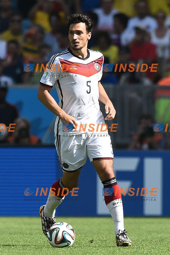 Mats Hummels Germany <br /> Rio de Janeiro (Brasile) 04-07-2014 Maracana Quarter-Finals / Quarti di finale France - Germany / Francia - Germania. Football 2014 Fifa World Cup Brazil - Campionato del Mondo di Calcio  Brasile 2014 <br /> Foto Insidefoto