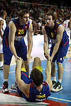 Lorbek, Tomic & Huertas. FC Barcelona Regal vs CSKA Moscow: 75-78