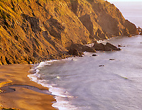View of Coastline at Humbug State Park with Brush Creek, Oregon