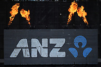 ANZ signage during the 5th ODI Blackcaps v England. Hagley Oval, Christchurch, New Zealand. Saturday 10 March 2018. ©Copyright Photo: Chris Symes / www.photosport.nz