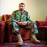 Afghan National Army General Khaid Muhammad Khandar.