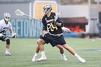 Washington, DC - February 23, 2019: Towson Tigers Brendan Sunday (24) in action during game between Towson and Georgetown at  Cooper Field in Washington, DC.   (Photo by Elliott Brown/Media Images International)