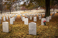 Fall at the Fort Smith National Cemetery in Fort Smith Arkansas.