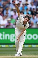 28th December 2019; Melbourne Cricket Ground, Melbourne, Victoria, Australia; International Test Cricket, Australia versus New Zealand, Test 2, Day 3; Pat Cummins of Australia bowls - Editorial Use