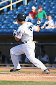 June 11th 2008:  Roman Pena of the Lake County Captains, Class-A affiliate of the Cleveland Indians, during a game at Classic Park in Eastlake,OH.  Photo by:  Mike Janes/Four Seam Images