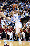 18 January 2014: North Carolina's Marcus Paige (5). The University of North Carolina Tar Heels played the Boston College Eagles in an NCAA Division I Men's basketball game at the Dean E. Smith Center in Chapel Hill, North Carolina. UNC won the game 82-71.