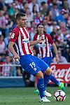 Lucas Hernandez of Atletico de Madrid during the match of La Liga between  Atletico de Madrid and Club Atletico Osasuna at Vicente Calderon  Stadium  in Madrid, Spain. April 15, 2017. (ALTERPHOTOS / Rodrigo Jimenez)