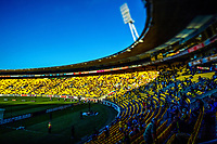 A general view during the A-League football match between Wellington Phoenix and Melbourne Victory FC at Sky Stadium in Wellington, New Zealand on Sunday, 15 March 2020. Photo: Dave Lintott / lintottphoto.co.nz