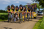 Team3M (MMM), Stage 2: Team Time Trial, 62th Olympia's Tour, Netterden, The Netherlands, 13th May 2014, Photo by Thomas van Bracht / Peloton Photos