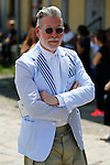 Nick Wooster at the Gucci's Fashion Show as part of the Milan's Fashion Week Men's wear Spring/Summer 2016, in Milan on June 22, 2015.