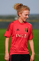20200911 - TUBIZE , Belgium : Charlotte Tison pictured during a training session of the Belgian Women's National Team, Red Flames , on the 11th of September 2020 in Tubize. PHOTO SEVIL OKTEM| SPORTPIX.BE
