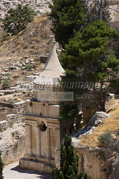 Asie/Israël/Judée/Jérusalem: Tombeau d'Absalom à Jérusalem