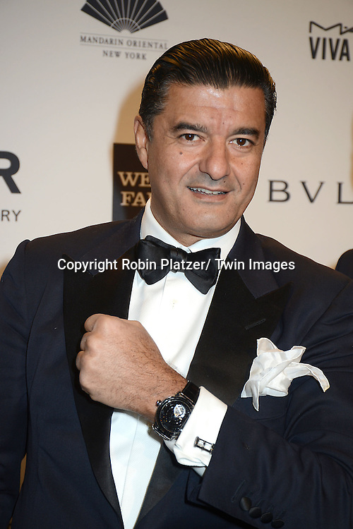 Jacob Arabo attends the amfAR New York Gala on February 5, 2014 at Cipriani Wall Street in New York City.