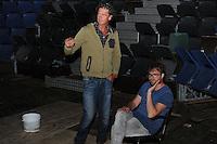 CULTUUR: JORWERT: 06-08-2015, Iepenloftspul Augustus, regisseur Tjerk Kooistra en assistent Ekko de Bakker, ©foto Martin de Jong
