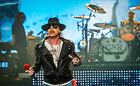 LAS VEGAS, NV - October 31: Axl Rose pictured Guns N' Roses kick off Residency show,  Appetite for Democracy at The Joint at Hard Rock Hotel & Casino October 31, 2012 in Las Vegas, Nevada.   Photo By: Kabik/Starlitepics/MediaPunch Inc. /NortePhoto