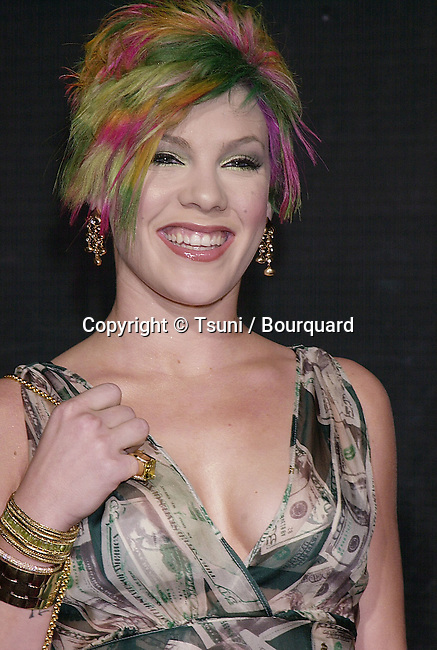 Dec 05, 2000; Los Angeles, CA, USA; <br /> The 2000 Billboard Music awards was hels at the MGM in Las Vegas<br /> Pink.04.JPG