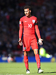England's Dele Alli looks on dejected during the FIFA World Cup Qualifying match at Hampden Park Stadium, Glasgow Picture date 10th June 2017. Picture credit should read: David Klein/Sportimage