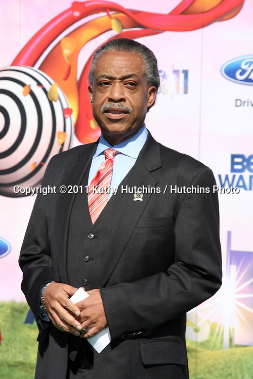 LOS ANGELES - JUN 26:  Al Sharpton arriving at the 11th Annual BET Awards at Shrine Auditorium on June 26, 2004 in Los Angeles, CA