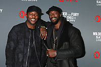 "LOS ANGELES - DEC 1:  Edwin Hodge, Aldis Hodge at the Heavyweight Championship Of The World ""Wilder vs. Fury"" - Arrivals at the Staples Center on December 1, 2018 in Los Angeles, CA"