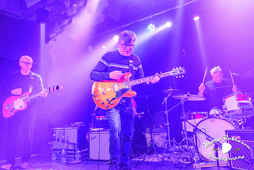 Teenage Fanclub, by Akron and Cleveland Music Photographer, Portrait Photographer and Event Photographer Mara Robinson, Mara Robinson Photography. At El Club, Detroit MI