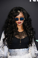 LOS ANGELES, CALIFORNIA - JUNE 23: H.E.R. attends the 2019 BET Awards on June 23, 2019 in Los Angeles, California. Photo: imageSPACE/MediaPunch