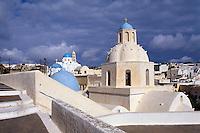 Griechenland, Insel Santorin (Santorini), Kirche Agios Demetrius in Messaria