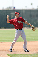 Bobby Borchering, Arizona Diamondbacks 2010 minor league spring training..Photo by:  Bill Mitchell/Four Seam Images.