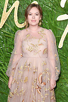 Tanya Burr at the British Fashion Awards 2017 at the Royal Albert Hall, London, UK. <br /> 04 December  2017<br /> Picture: Steve Vas/Featureflash/SilverHub 0208 004 5359 sales@silverhubmedia.com