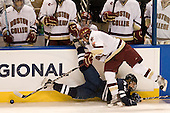 Brian O'Neill (Yale - 9), Edwin Shea (BC - 8) - The Boston College Eagles defeated the Yale University Bulldogs 9-7 in the Northeast Regional final on Sunday, March 28, 2010, at the DCU Center in Worcester, Massachusetts.
