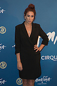 London, UK. 19 January 2016. Singer and presenter Stacey Solomon. Celebrities arrive on the red carpet for the London premiere of Amaluna, the latest show of Cirque du Soleil, at the Royal Albert Hall.