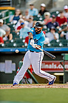 1 March 2019: Miami Marlins infielder Pedro Alvarez at bat during a Spring Training game against the Washington Nationals at Roger Dean Stadium in Jupiter, Florida. The Nationals defeated the Marlins 5-4 in Grapefruit League play. Mandatory Credit: Ed Wolfstein Photo *** RAW (NEF) Image File Available ***