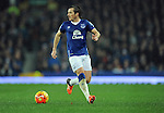 Leighton Baines of Everton<br /> - Barclays Premier League - Everton vs Leicester City - Goodison Park - Liverpool - England - 19th December 2015 - Pic Robin Parker/Sportimage