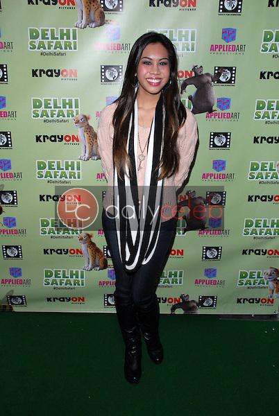 """Ashley Argota<br /> at the """"Delhi Safari"""" North American Premiere, Pacific Theaters, Los Angeles, CA 12-03-12<br /> David Edwards/DailyCeleb.com 818-249-4998"""