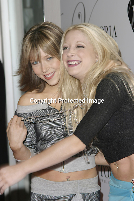 Ashley Peldon and Courtney Peldon<br />Grand opening of Victoria Jewels<br />Victoria Jewels<br />Beverly Hills, CA, USA <br />Thursday, December 11, 2003 <br />Photo By Celebrityvibe.com /Photovibe.com