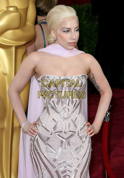 02 March 2014 - Hollywood, California - Lady Gaga, Stefani Joanne Angelina Germanotta. 86th Annual Academy Awards held at the Dolby Theatre at Hollywood &amp; Highland Center.  <br /> CAP/ADM<br /> &copy;AdMedia/Capital Pictures