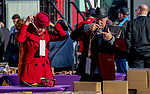 November 3, 2018 : Fans enter Churchill Downs on Breeders Cup World Championships Saturday at Churchill Downs on November 3, 2018 in Louisville, Kentucky. Bill Denver /Eclipse Sportswire/CSM