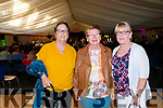 Showband Concert: Pictured at the showband concert held in the Duagh Sports Complex on Thursday night last were Patricia Heffernan, Kathleen Brick & June O'Connor all from Lixnaw.