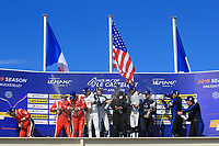 #21 DRAGONSPEED (USA) ORECA 07 GIBSON LMP2 HENRIK HEDMAN (SWE) BEN HANLEY (GBR) JAMES ALLEN (AUS) WINNER OVERALL                 <br /> #28 IDEC SPORT (FRA) ORECA 07 GIBSON LMP2 PAUL LAFARGUE (FRA) PAUL LOUP CHATIN (FRA) MEMO ROJAS (MEX) SECOND OVERALL<br /> #30 DUQUEINE ENGINEERING (FRA) ORECA 07 GIBSON LMP2 NICOLAS JAMIN (FRA) PIERRE RAGUES (FRA) RICHARD BRADLEY (GBR) THIRD OVERALL