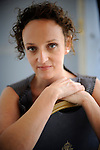 """Actress Kym Vercoe poses to promote her film """"For those who can tell no tales"""" during the 61st San Sebastian Film Festival on September 27, 2013, Basque country. (Ander Gillenea / Bostok Photo)"""
