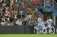 Gol di Marco Borriello Spal. Goal celebration.<br /> Ferrara 27-08-2017 Stadio Paolo Mazza Calcio Serie A 2017/2018 Spal - Udinese Foto Filippo Rubin/Insidefoto