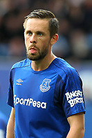 Gylfi Sigurdsson of Everton during the Premier League match between Everton and Burnley at Goodison Park on October 1st 2017 in Liverpool, England. <br /> Calcio Everton - Burnley Premier League <br /> Foto Phcimages/Panoramic/insidefoto
