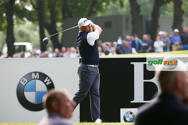 Lee Westwood (ENG) during Round Two of the 2016 BMW PGA Championship over the West Course at Wentworth, Virginia Water, London. 27/05/2016. Picture: Golffile | David Lloyd. <br /> <br /> All photo usage must display a mandatory copyright credit to &copy; Golffile | David Lloyd.