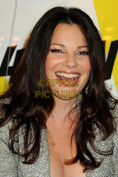"FRAN DRESCHER .""The Million Dollar Revival"" Benefit for Fran Drescher's Cancer Schmancer Charity Movement held at the Million Dollar Theatre, Los Angeles, California, USA..December 13th, 2009.headshot portrait silver jewel encrusted embellished sparkly mouth open smiling .CAP/ADM/BP.©Byron Purvis/AdMedia/Capital Pictures."