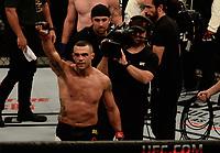 RIO DE JANEIRO, RJ, 03.06.2017 – UFC-RJ – Lutadores Vitor Belford - BRA (vermelho) vs Nate Marquardt - EUA (azul) Peso Médio durante o UFC 212 na Arena Jeunesse, na zona oeste da cidade do Rio de Janeiro, na noite deste sábado (03). (Foto: Jayson Braga / Brazil Photo Press)