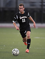 Oct 29, 2014; Orange, CA, USA; Occidental College Tigers forward Connor Freeman (11) against the Chapman College Panthers. Photo by Kirby Lee