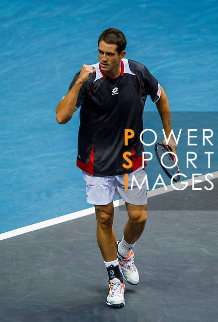 Guillermo Garcia-Lopez of Spain in action during the Day 7 of the PTT Thailand Open at Impact Arena on October 1, 2010 in Bangkok, Thailand. Photo by Victor Fraile / The Power of Sport Images